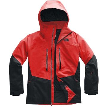 The North Face 2020 Men's Chakal Jacket - Fiery Red/Tnf Blk