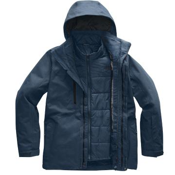The North Face 2020 Men's Clement Tri Climate Jacket - Blue Wing Teal