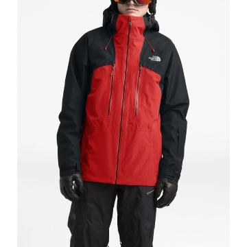 The North Face Men's Powerflo Jacket - Fiery Red/Tnf Blk
