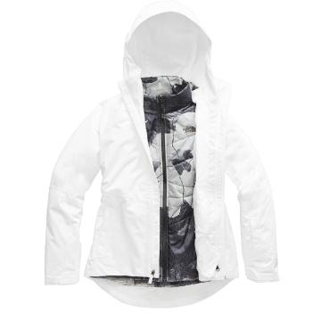 The North Face 2020 Women's Clementine Tri Climate Jacket - TNF White
