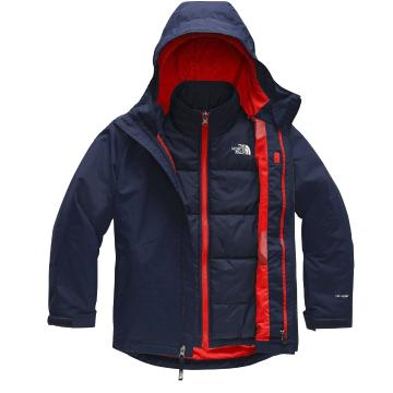 The North Face 2020 Youth Clement Tri Climate - Montague Blue