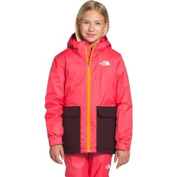 The North Face Girls Freedom Insulated Jacket - Paradise Pink