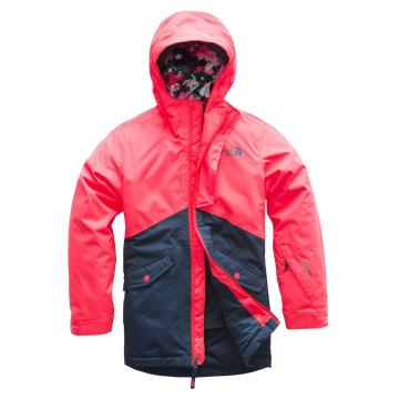 The North Face  Girls Freedom Insulated Jacket - Rocket Red