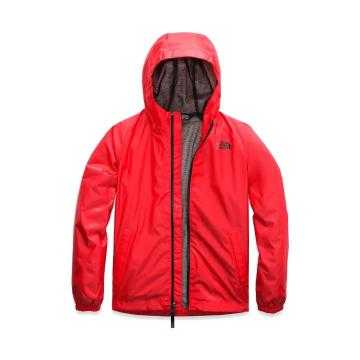 The North Face Boys Zipline Rain Jacket - Fiery Red