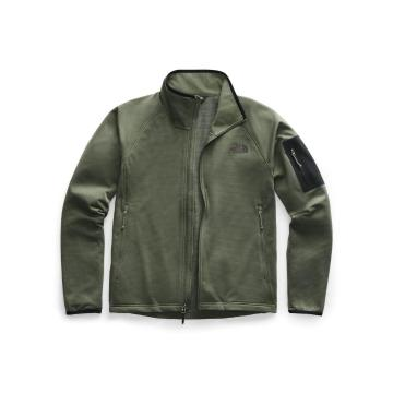 The North Face Men's Borod Full Zip - New Taupe Green/TNF Black
