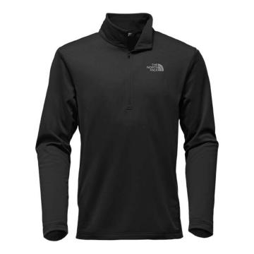 The North Face Men's Tech Glacier 1/4 Zip - TNF Black