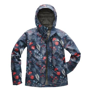 The North Face Women's Print Venture Jacket - Blue Wing Teal Joshua Tree