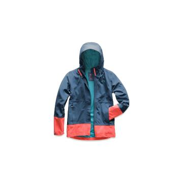 The North Face Women's Apex Flex Dryvent jacket - Blue Wing Teal/Spiced Coral
