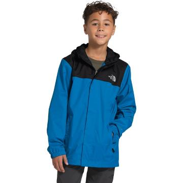 The North Face Boys Resolve Reflective Jacket - Clear Lake Blue
