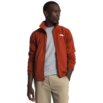 The North Face Men's Echo Rock Full Zip Jacket - Pompeian Red