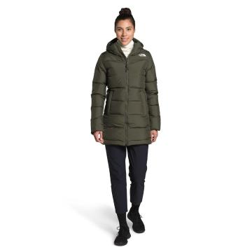 The North Face Women's Gotham Parka  - New Taupe Green