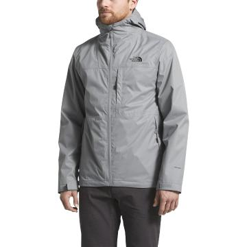 The North Face Men's Arrwood Triclimate® Jacket - Mineral Grey/Mineral Grey