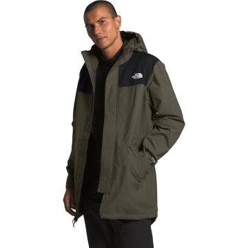 The North Face Men's City Brze Rain Parka - New Taupe Green/TNF Black
