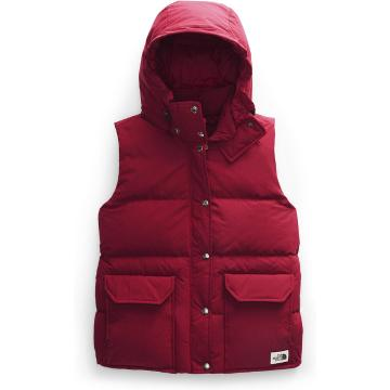 The North Face Women's Down Sierra Vest - Cardinal Red