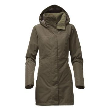 The North Face Women's Laney Trench II - New Taupe Green