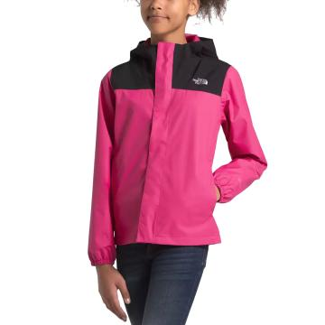 The North Face Girls Resolve Reflective Jacket - Mr. Pink