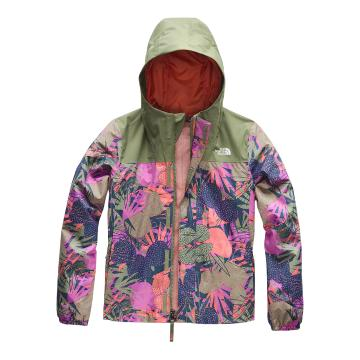 The North Face Girl Resolve Reflct Jacket - Four Leaf Clover