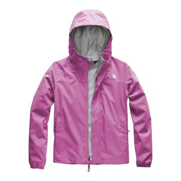 The North Face Girls Resolve Reflctive Jacket - Wisteria Purple