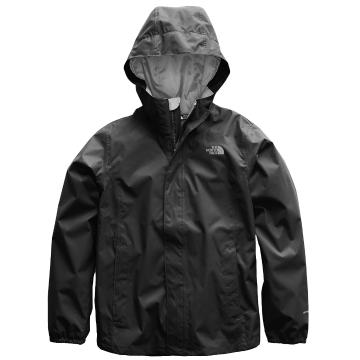 The North Face Girl Long Sleeve Resolve Reflective Jacket - TNF Black