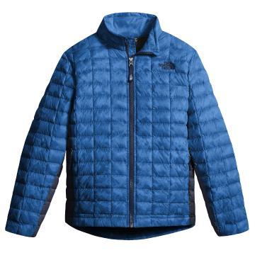 The North Face Boys Thermoball Full Zip Jacket - Turkish Sea Metrc Mtn Prt