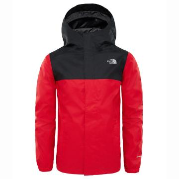 The North Face Boys Resolve Reflective Jacket - TNF Red