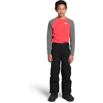 The North Face Boys Freedom Insulated Pants - TNF Black/TNF White