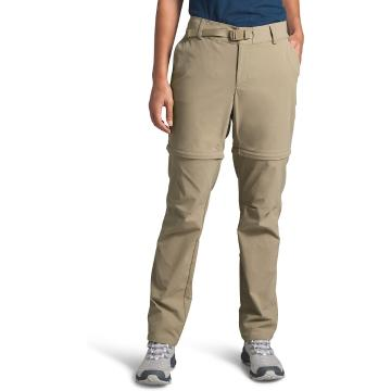 The North Face Women's Paramount Convert Mid-Rise Pants - Twill Beige