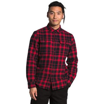 The North Face Men's Arroyo Flannel Shirt - TNF Red Heritage Med 2 Color P
