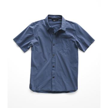 The North Face Men's North Dome Short Sleeve Shirt - Shady Blue