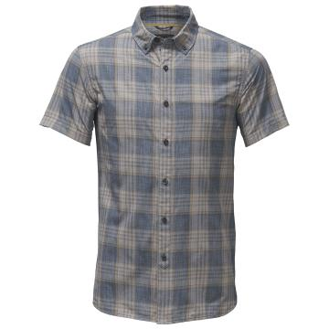 The North Face Mens Short Sleeve Monanock Shirt - Urban Navy