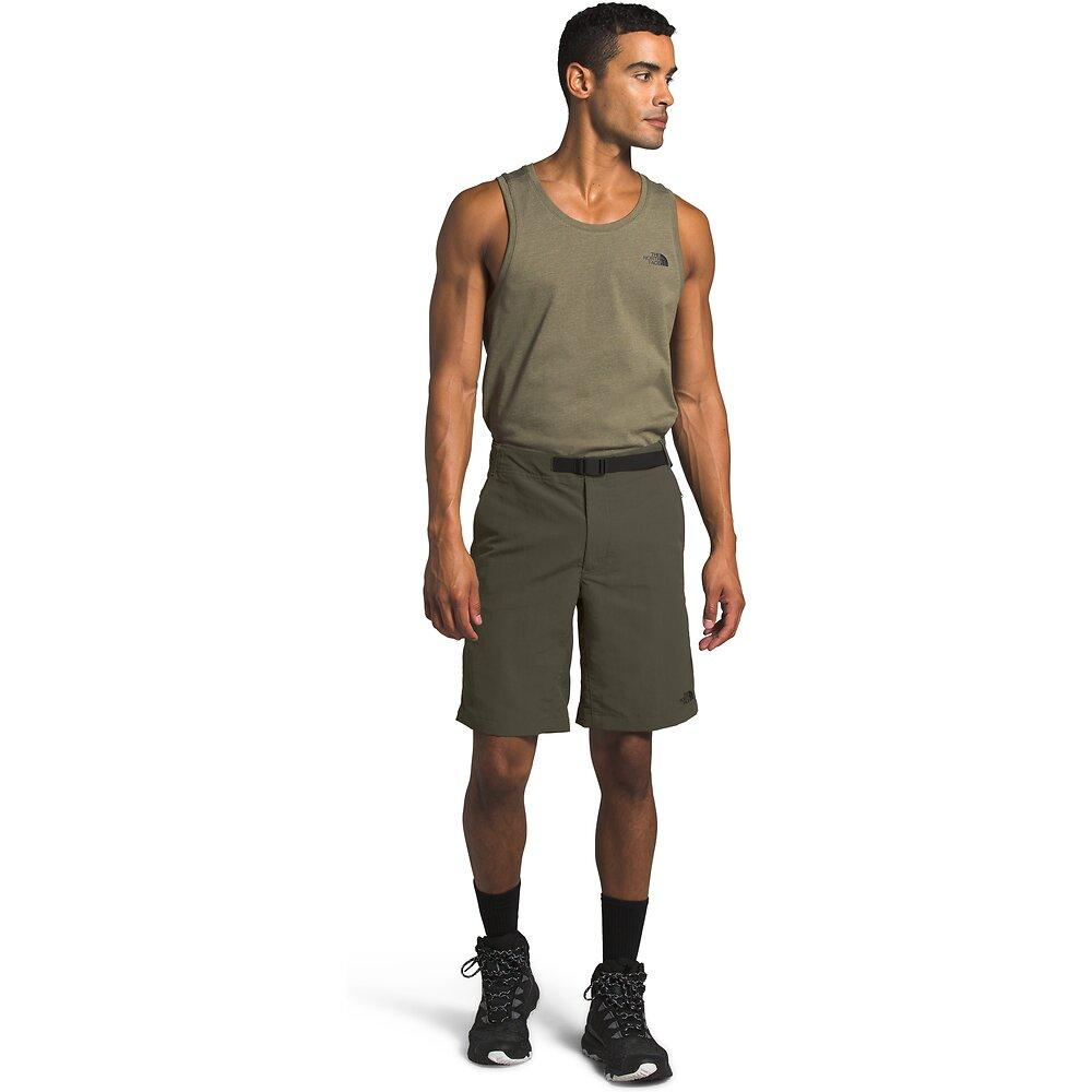 Men's Paramount Trail Shorts - New Taupe Green