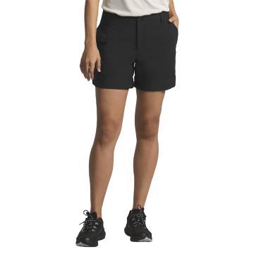 The North Face Women's Wandur Hike Shorts - TNF Black 10 - TNF Black