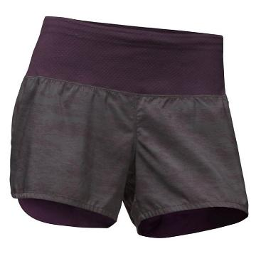 The North Face Womens Flight BTN Short - Galaxy Prpl Digicamo Prnt