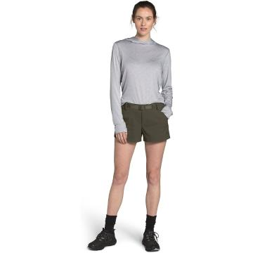 The North Face Women's Paramount Active Shorts - New Taupe Green