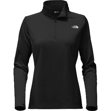 The North Face Women's Tech Glacier 1/4 ZiP Fleece - TNF Black