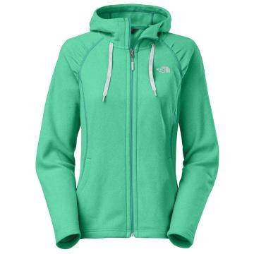 The North Face Women's Mezzaluna Hoodie - Kokomo Green Heather