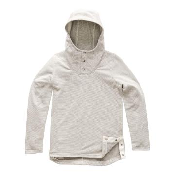 The North Face TNF Wmns Knit Stitch Fleece Pullover - Wild Oat Heather