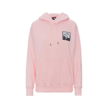The North Face Women's Patch Ideals Pullover - Impatiens Pink
