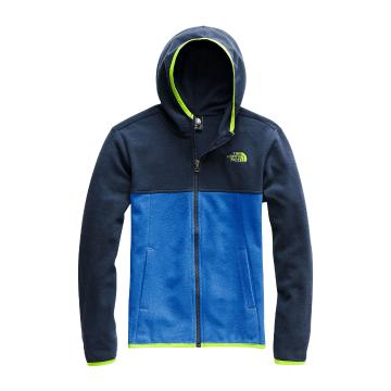 The North Face Boys Glacier Full Zip Hoodie - Turkish Sea