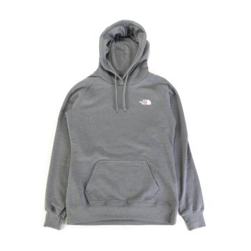 The North Face Women's Red Box Hoodie - TNF Med Grey Heather/Pink Salt