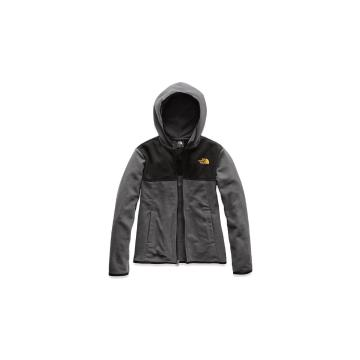 The North Face Boys Glacier Full Zip Hoodie - Graphite Grey