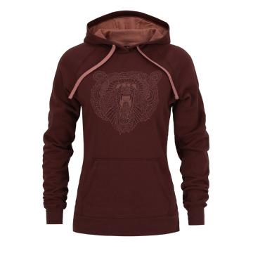 The North Face Women's Grizzly Bear Pullover Hoodie - Barolo Red