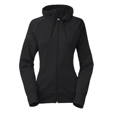 The North Face Women's Suprema Full Zip Hoodie - Asphalt Grey