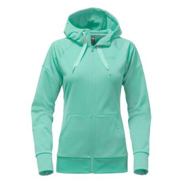 The North Face Women's Suprema Full Zip Hoodie - Agate Green
