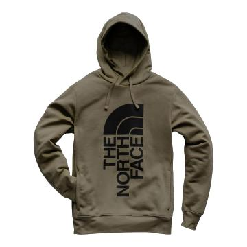 The North Face TNF Mens Trivert Pullover Hoodie - New Taupe Green/TNF Black