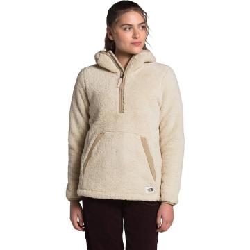 The North Face Women's Campshre Pullover Hood 2.0 - Bleached Sand/Hawthorne Khaki
