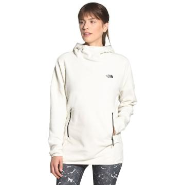 The North Face Women's TKA Glacier Pullover Hoodie - Vintage White