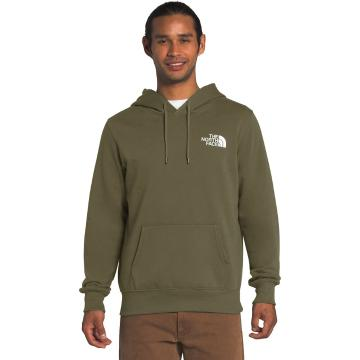 The North Face Men's Box NSE Pullover Hoodie - Burnt Olive Green