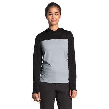 The North Face Women's North Dome Pullover Hood - TNF Black/Mid Grey