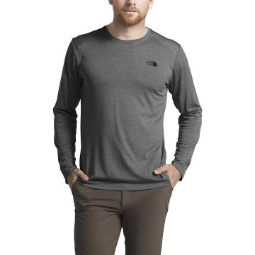 The North Face Men's Hyperlayer FD Long Sleeve - TNF Dark Grey Heather